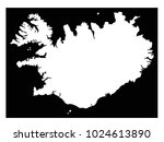 vector illustration of iceland... | Shutterstock .eps vector #1024613890