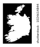 vector illustration of ireland... | Shutterstock .eps vector #1024614844