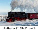 brocken  germany   february 6 ... | Shutterstock . vector #1024618624