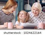 amusing content. pretty little... | Shutterstock . vector #1024622164