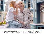 our secret. adorable little... | Shutterstock . vector #1024622200