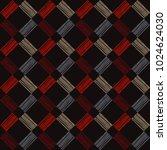 seamless geometric pattern.... | Shutterstock .eps vector #1024624030