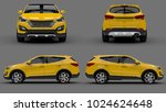 set compact city crossover...   Shutterstock . vector #1024624648