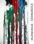 enamel paint texture flowing... | Shutterstock . vector #1024630213