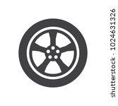 car wheel icon symbol vector | Shutterstock .eps vector #1024631326
