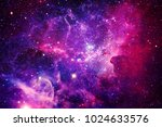 bursting galaxy   elements of... | Shutterstock . vector #1024633576