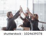 start up concept. group of...   Shutterstock . vector #1024639378
