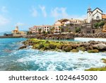 cliff view panorama of quinta... | Shutterstock . vector #1024645030