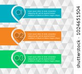 5 steps infographics with... | Shutterstock . vector #1024651504