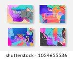 original presentation templates....   Shutterstock .eps vector #1024655536