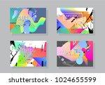 original presentation templates....   Shutterstock .eps vector #1024655599