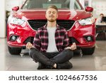 young handsome bearded man...   Shutterstock . vector #1024667536