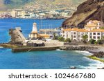 cliff view panorama of quinta... | Shutterstock . vector #1024667680