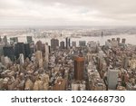 new york. skyscrapers. landmarks | Shutterstock . vector #1024668730