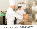 professional chef cook with...   Shutterstock . vector #102466976