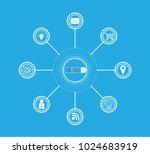 search engine optimization seo...   Shutterstock .eps vector #1024683919