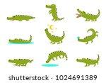 Smiling Friendly Crocodile...