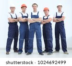 group of professional... | Shutterstock . vector #1024692499