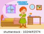 chubby cheeks  kids english... | Shutterstock .eps vector #1024692574