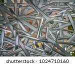reflection of light from... | Shutterstock . vector #1024710160