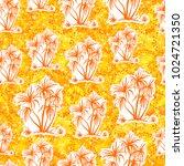 exotic seamless pattern ... | Shutterstock .eps vector #1024721350