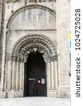 church in the orense region ...   Shutterstock . vector #1024725028
