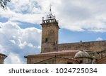 church in the orense region ...   Shutterstock . vector #1024725034