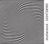 wavy geometric background.... | Shutterstock .eps vector #1024728583