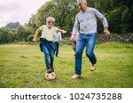 three generation family are... | Shutterstock . vector #1024735288