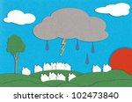paper landscape | Shutterstock . vector #102473840