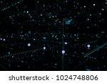 big data complex. graphic...   Shutterstock . vector #1024748806