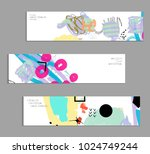 abstract universal art web... | Shutterstock .eps vector #1024749244