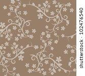 digital floral background | Shutterstock . vector #102476540