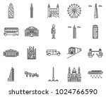 London Icons Line Style Sets....
