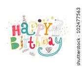 Happy Birthday Greetings....