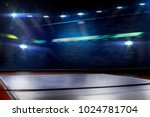 ping pong table tennis... | Shutterstock . vector #1024781704