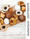 homemade european bakery style...   Shutterstock . vector #1024782478