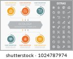 ecology infographic template ... | Shutterstock .eps vector #1024787974