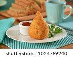 coxinha   typical brazilian...   Shutterstock . vector #1024789240