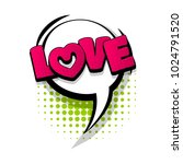love  romantic  valentine hand... | Shutterstock .eps vector #1024791520