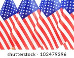 united states of america flags... | Shutterstock . vector #102479396