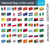 waving flags of the world....   Shutterstock .eps vector #1024797199