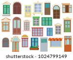 Collection Of Colorful Windows...
