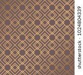 art deco pattern. seamless... | Shutterstock .eps vector #1024804339