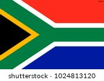 flag of south africa.  | Shutterstock .eps vector #1024813120