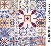 big vector set of tiles...   Shutterstock .eps vector #1024831888
