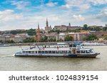 view of budapest with the river ... | Shutterstock . vector #1024839154