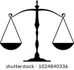 weight balance icon vector art...   Shutterstock .eps vector #1024840336