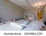 working process of installing... | Shutterstock . vector #1024861120
