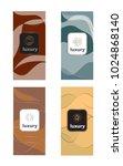 luxury packaging design set... | Shutterstock .eps vector #1024868140